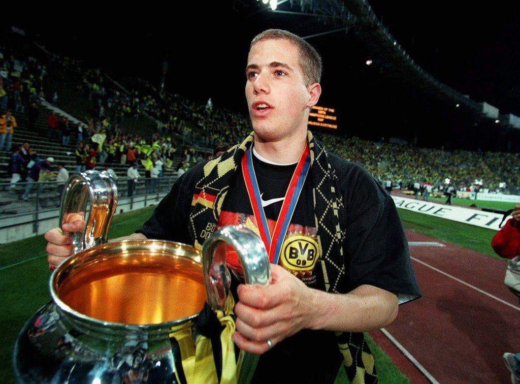 Lars Ricken BVB CL-Finale 1997