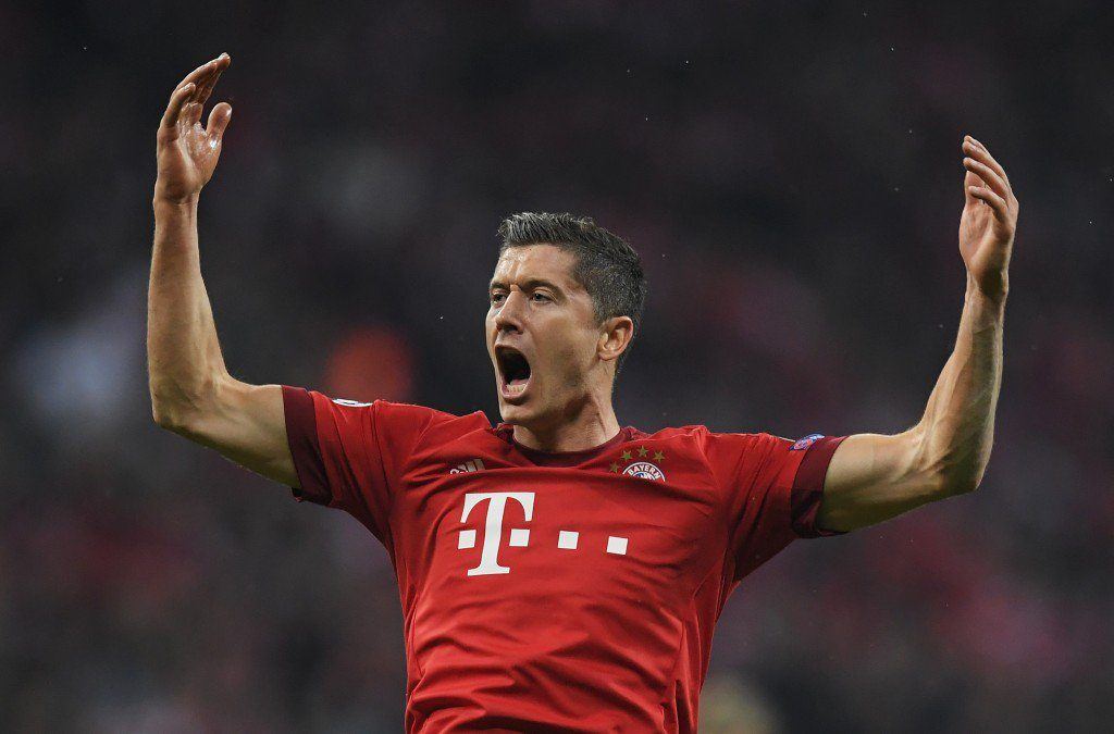 Heute spielt Lewandowski für die Bayern - und gehört zu den besten Stürmern weltweit. Foto: Getty Images