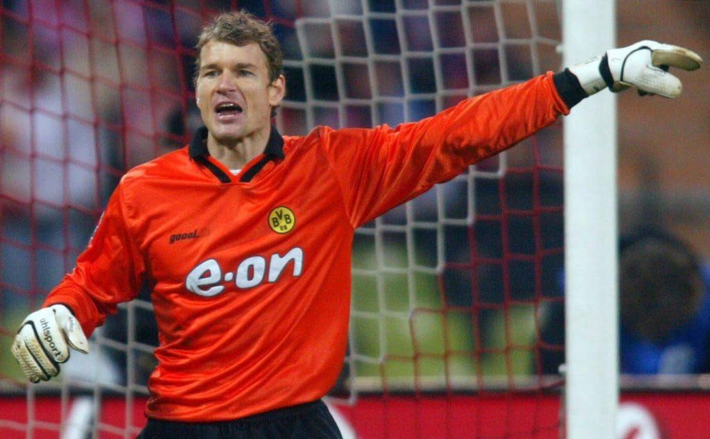 Spätestens seit der Meisterschaft mit dem BVB 2002 war Lehmann bei den Schwarz-Gelben zumindest akzeptiert. Foto: Getty Images