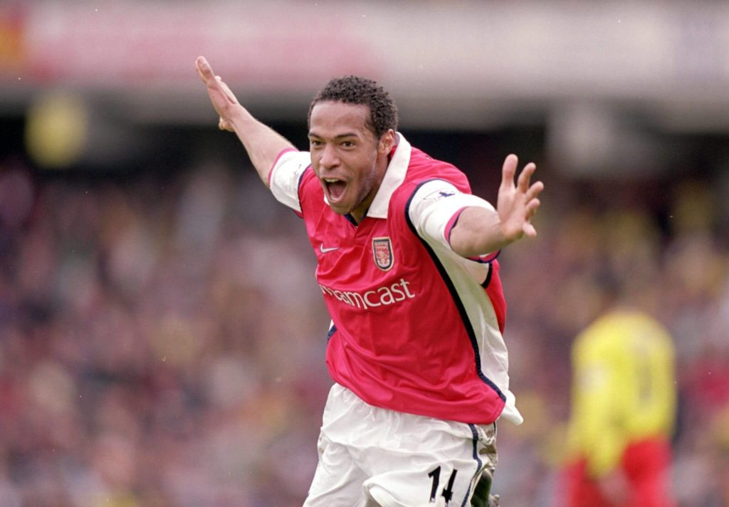 Thierry Henry hatte im Arsenal-Trikot viel zu jubeln. Foto: Getty Images