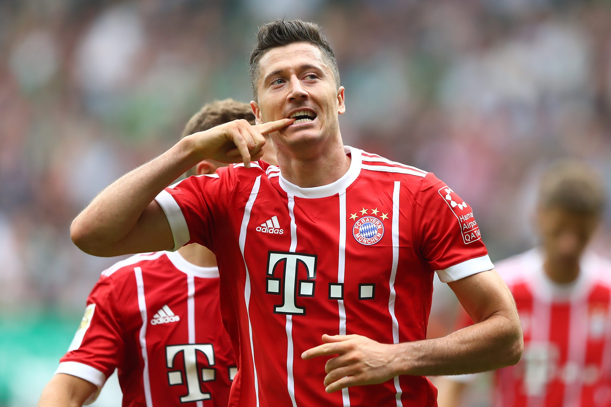 Robert Lewandowski = The Body. Foto: Getty Images
