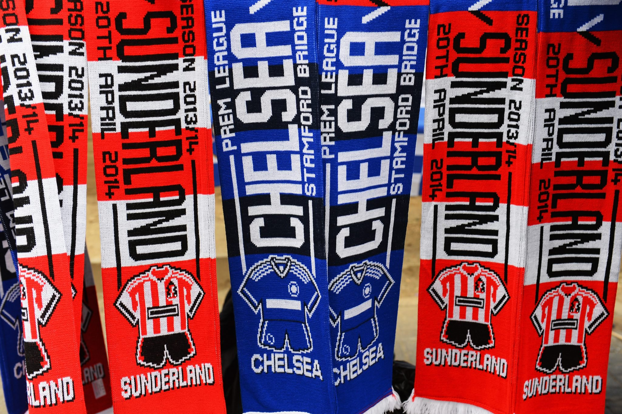 FC Sunderland und FC Chelsea London. Foto: Getty Images