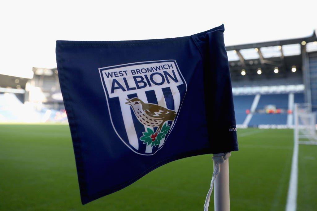 Die Fahne von Westbromwich Albion. Foto: Getty Images