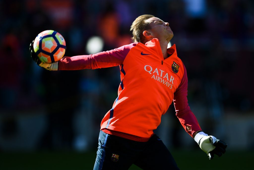 Marc-Andre ter Stegen ist nach holprigem Start beim FC Barcelona angekommen. Foto: Getty Images