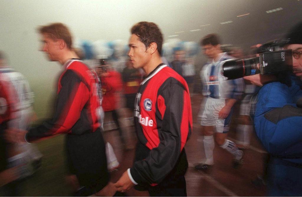 Alves spielte von 2000 bis 2003 in Berlin. Foto: Getty Images