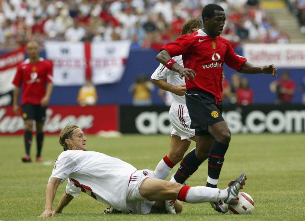 Eric Djemba-Djemba trug einst das Trikot von Manchester United. Foto: Getty Images