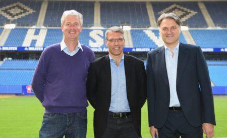 Dietmar Beiersdorfer (rechts) kam im selben Jahr aus Fürth. Foto: Getty Images