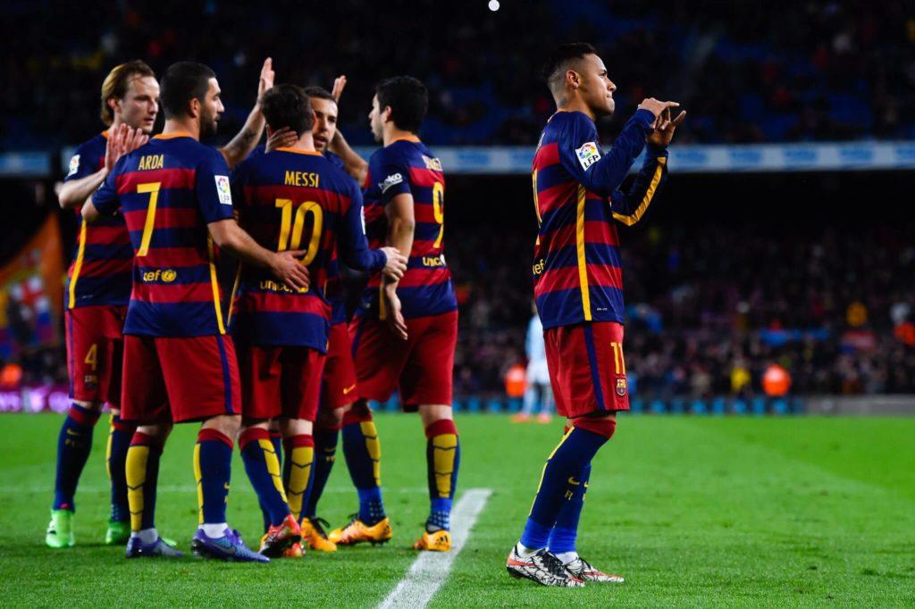 Beim FC Barcelona gibt es oft viel zu feiern. Foto: Getty Images