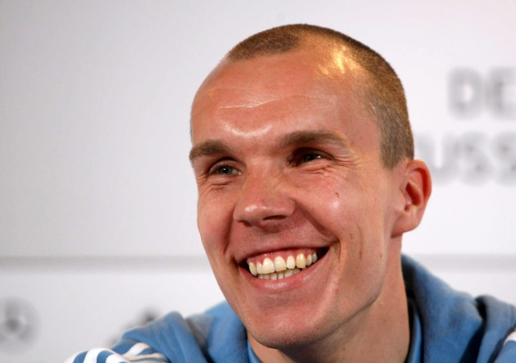 Robert Enke im Natioalteam; Foto - Getty Images