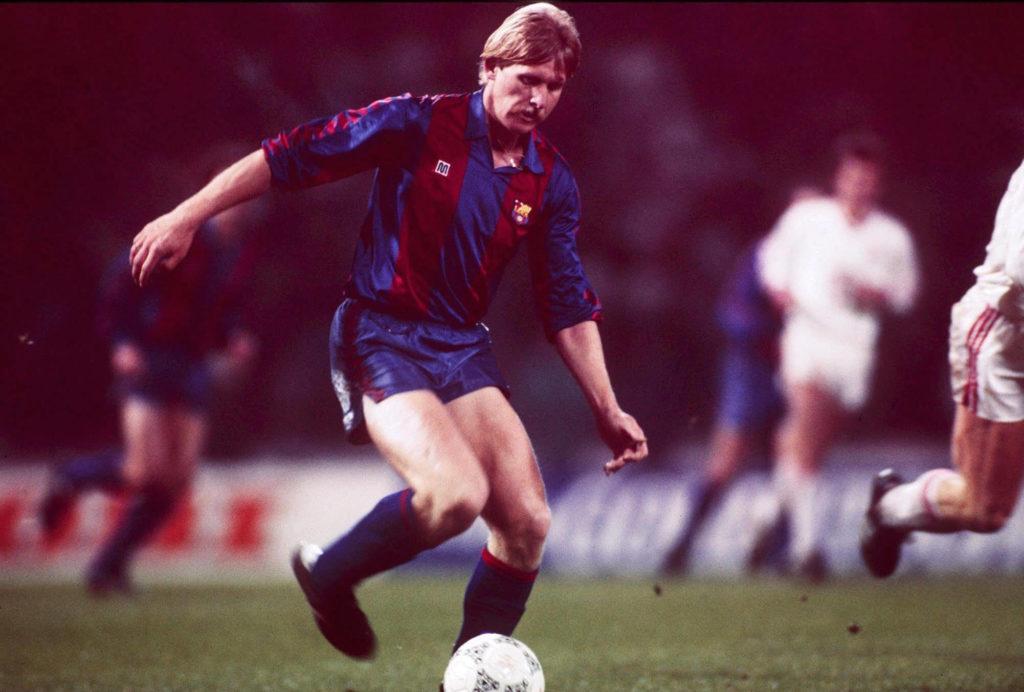 Bernd Schuster spielte acht Jahre für den FC Barcelona. Foto: Getty Images