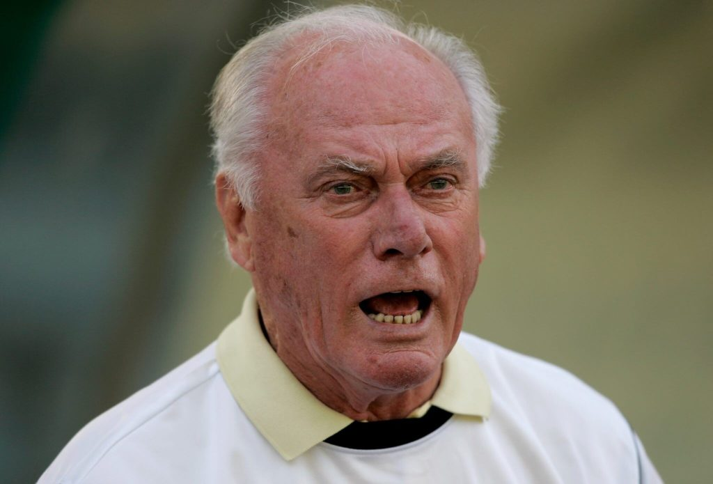 Udo Lattek war von 1981 bis 1983 beim FC Barcelona aktiv. Foto: Getty Images