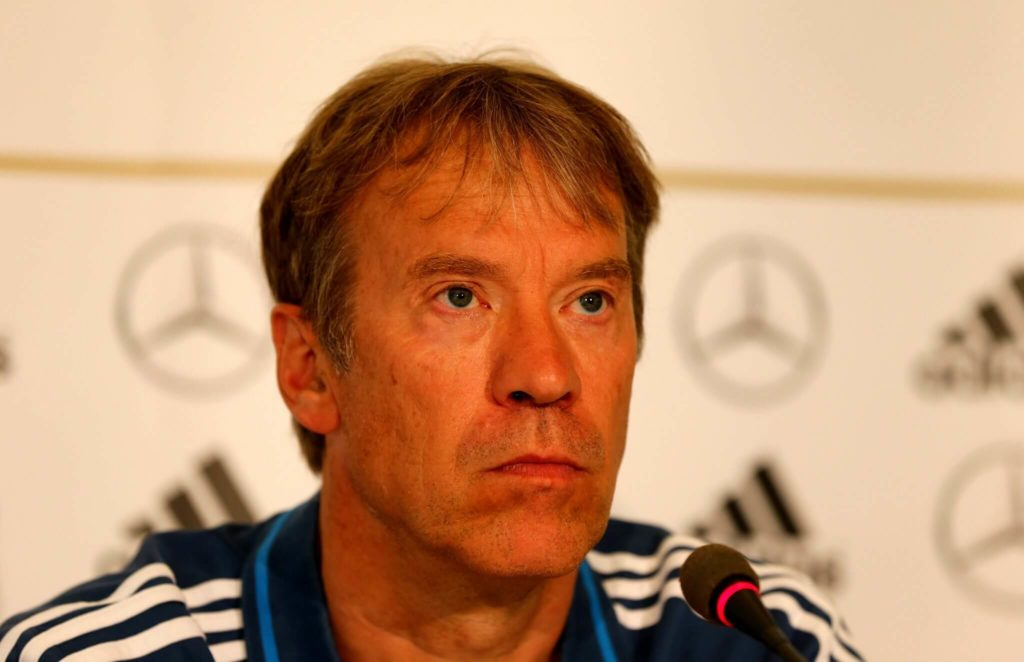 Klaus Thomforde, Torwarttrainer der deutschen U21. Foto: Getty Images
