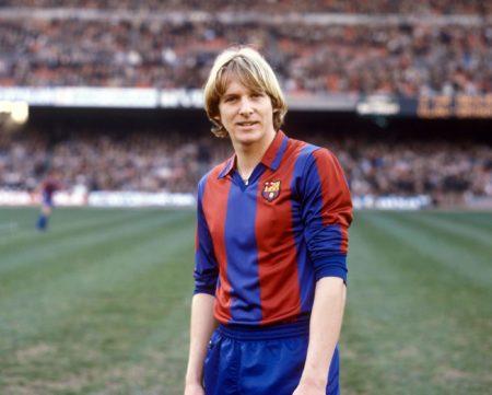 Insgesamt absolvierte Bernd Schuster 295 Spiele für Barca. Foto: Imago