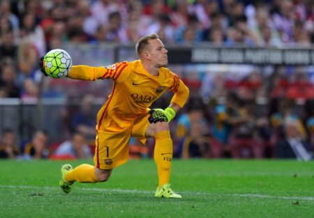 Marc-Andre Ter Stegen geht es beim FC Barcelona gut. Foto: Getty Images
