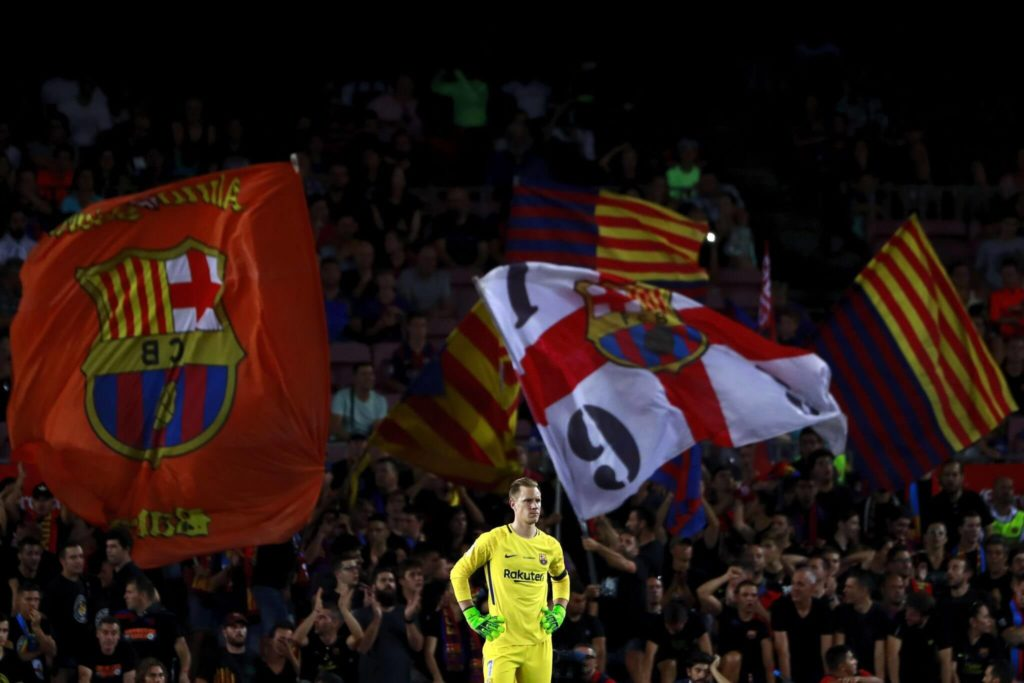 Dieser deutsche Nationaltorhüter ist Leistungsträger bei Barca. Foto: Imago