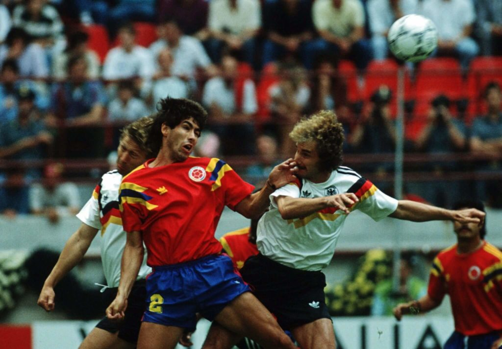 Andrés Escobar wurde 1994 ermordet. Foto: Getty Images