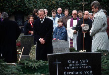 Bei der Beerdigung von Maurice Banach war auch Berti Vogts zugegen. Foto: Imago