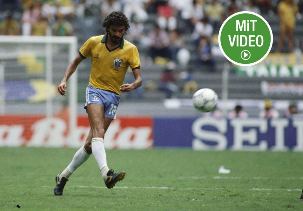 Sócrates war eine Ikone das brasilianischen Fußballs. Foto: Getty Images