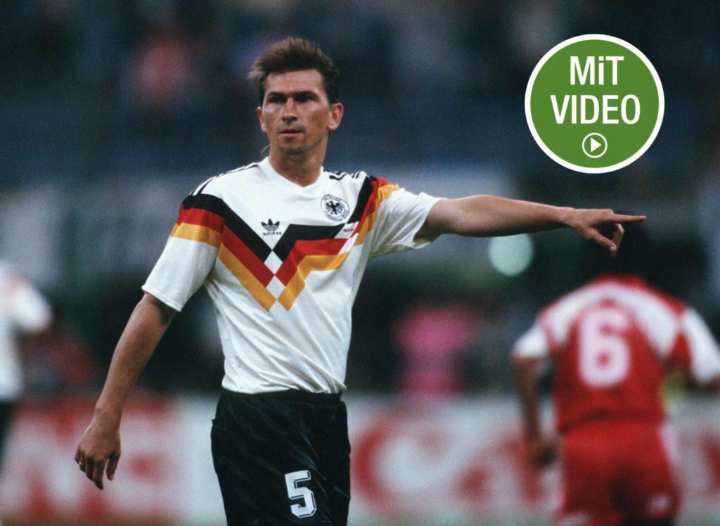 Klaus Augenthaler wurde 1990 Weltmeister mit Deutschland. Foto: Getty Images