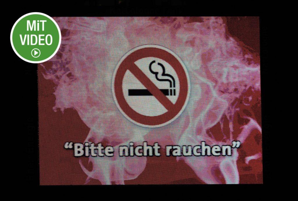 Rauchen verboten - gilt das auch für Fußball-Profis? Foto: Getty Images