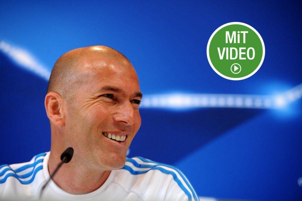 Kurz vor dem WM-Finale 2006 wurde bekannt, dass sich auch Zinedine Zidane gerne einmal eine Zigarette anzündet. Foto: Getty Images