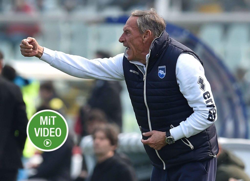 Zdenek Zeman ist ein Kultfigur im italienischen Fußball. Foto: Getty Images