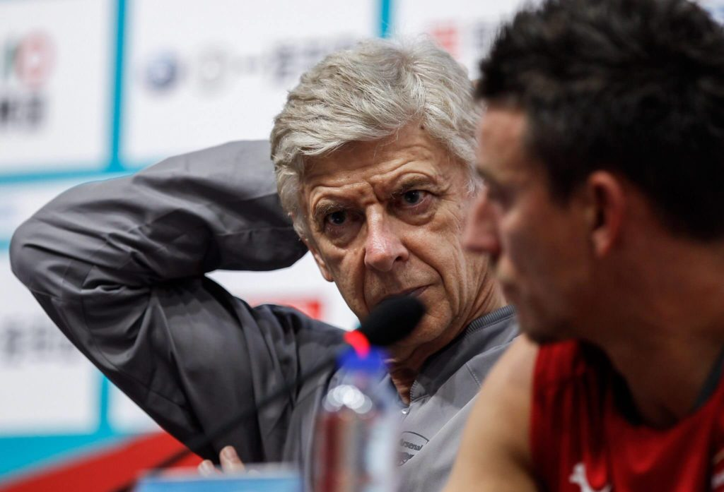 Was Arsene Wenger davon hält, dass Koscielny gelegentlich raucht, ist nicht bekannt. Foto: Getty Images