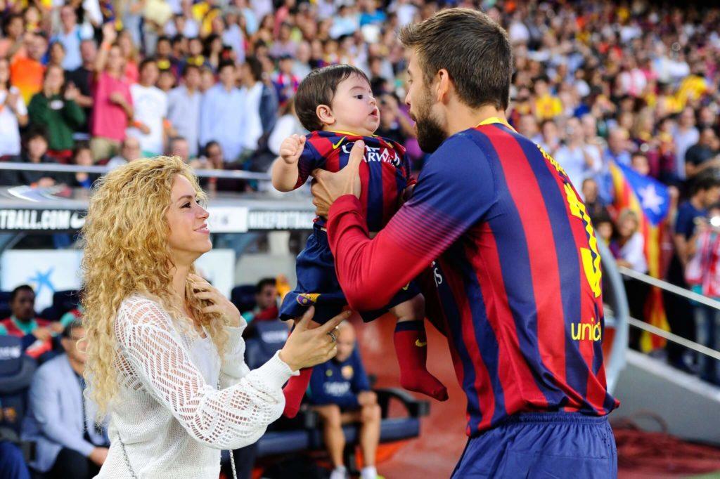Gerard Pique ist mit Shakira verheiratet. Foto: Getty Images