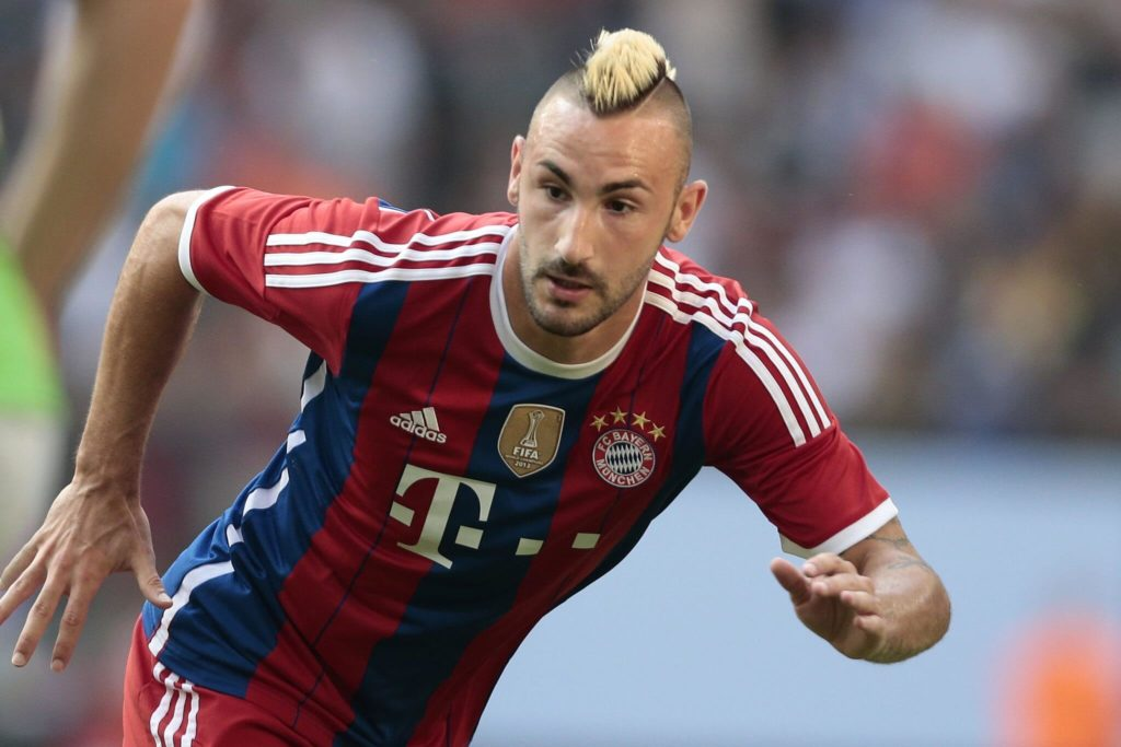 2010 rückte Diego Contento in den Münchner Profikader auf. Foto: Getty Images