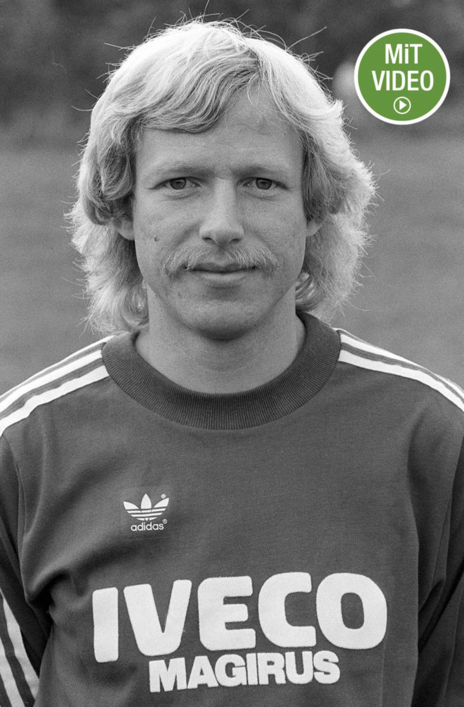 Karl 'Calle' Del'Haye vor der Saison 1982/1983, die er für den FC Bayern München absolvierte. Foto: Getty Images