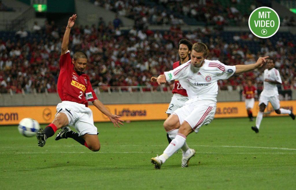 Lukas Podolski spielte drei Jahre für die Bayern. Foto: Getty Images