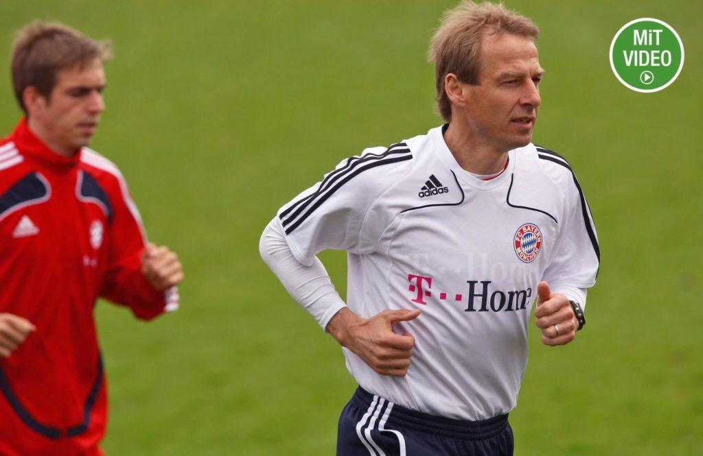 Jürgen Klinsmanns Zeit als Bayer-Trainer stand unter keinem guten Stern. Foto: Getty Images