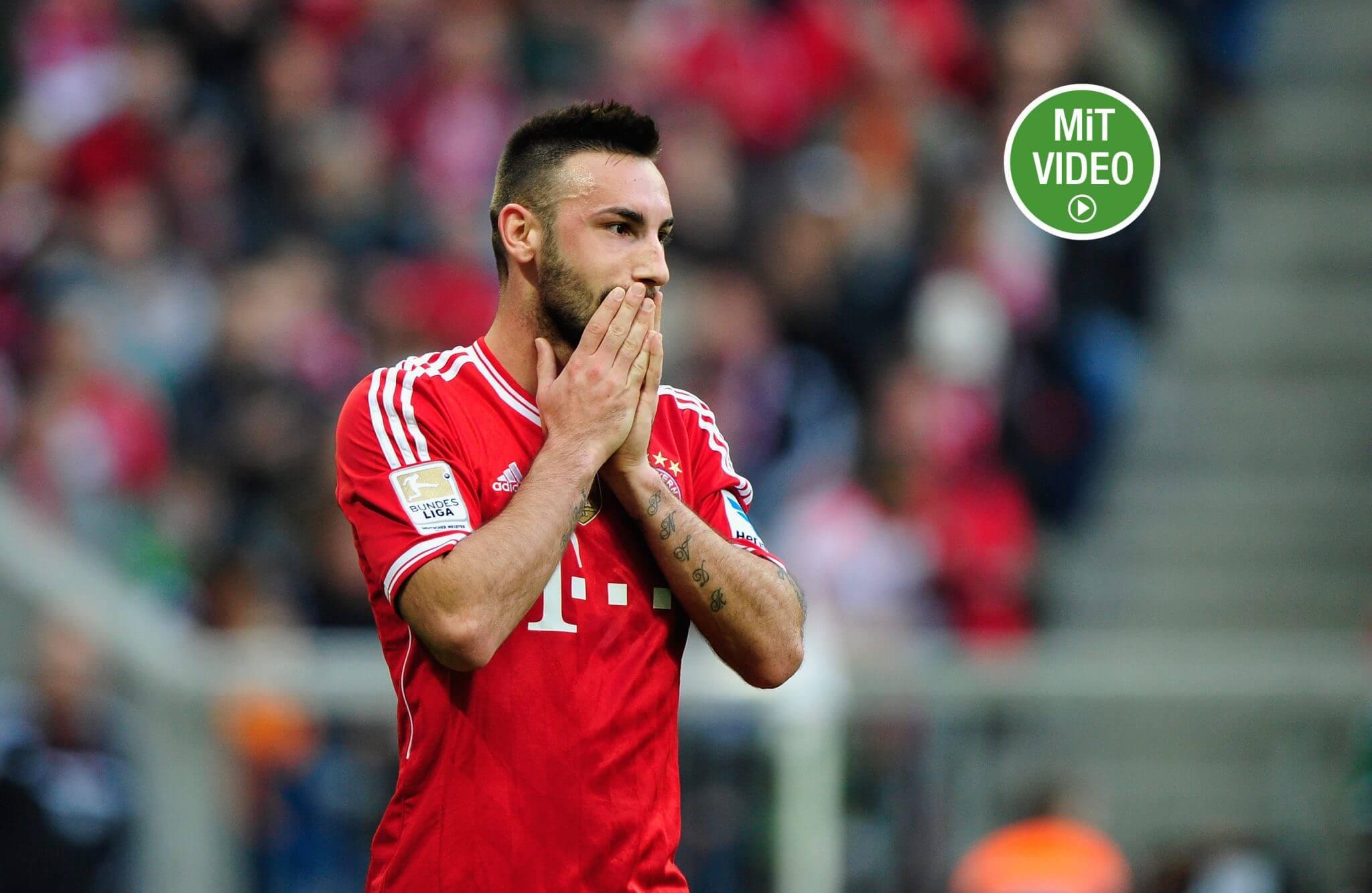 Diego Contento stammt aus der Jugend des FC Bayern. Foto: Getty Images