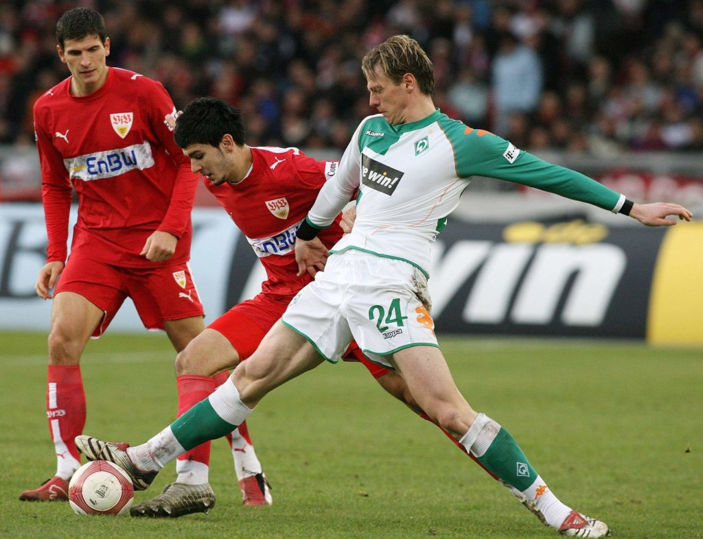 Bei Werder Bremen überzeugte er dagegen regelmäßig. Foto: Imago