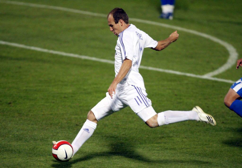 Die Karrieredelle bei Real Madrid hat Robben aber schnell überwunden. Foto: Imago