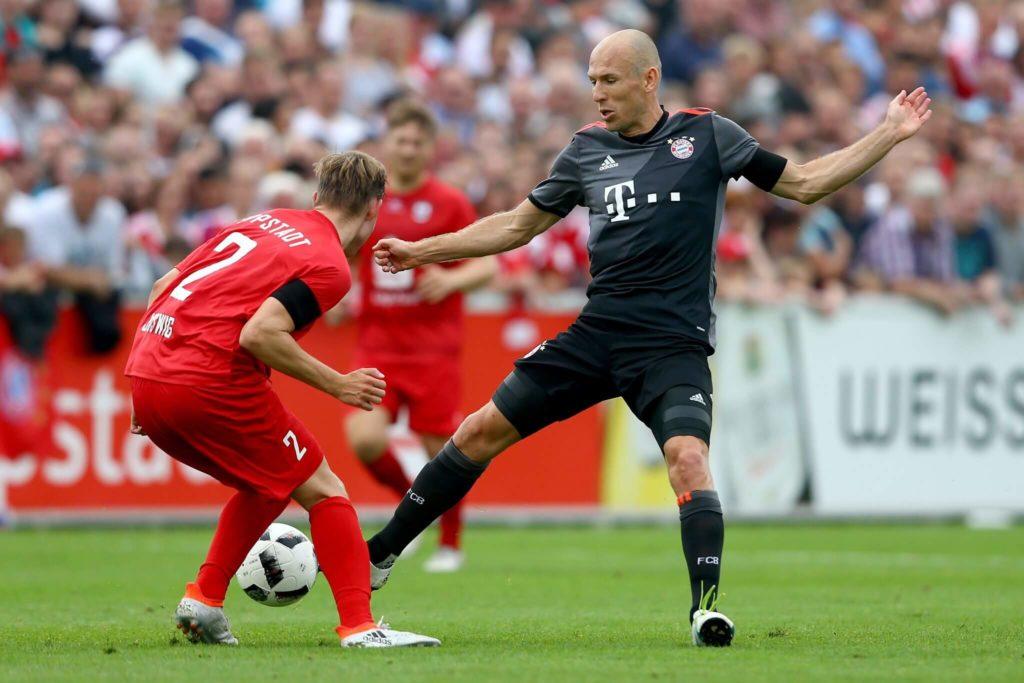 Robben wechselte anschließend weiter zu den Bayern. Foto: Getty Images