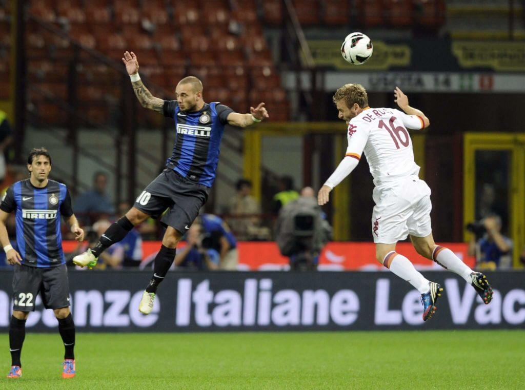 Nach zwei Jahren in der spanischen Hauptstadt zog Sneijder weiter zu Inter Mailand. Foto: Getty Images