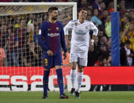 Messi und CR7 in einem Team - fast! Foto: Getty Images