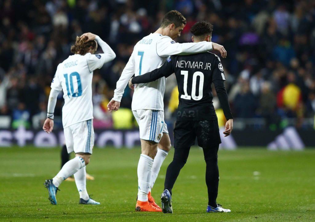 Neymar und Real Madrid - noch nicht zusammen in 2018.