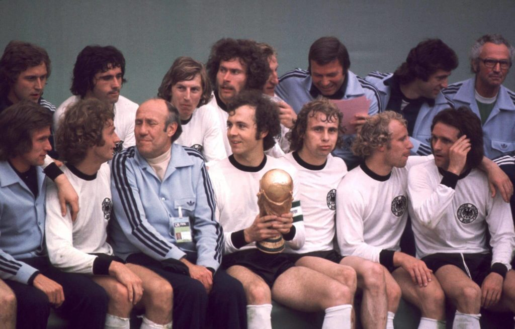La Mannschaft 1974. Foto: Getty Images