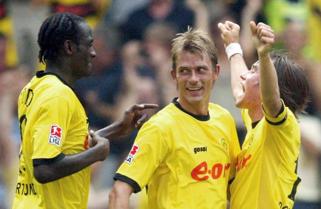 Der Norweger, immerhin 2002 Spieler des Jahres in seiner Heimat, schaffte den Durchbruch beim BVB aber nie. Foto: Getty Images