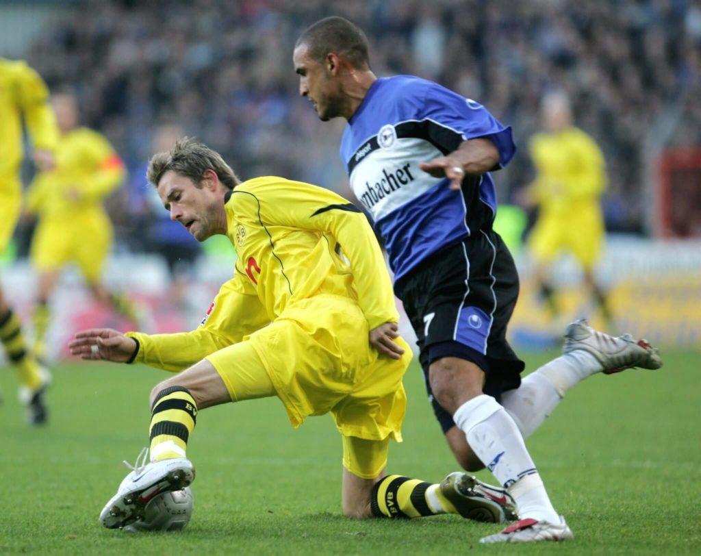 Andre Bergdölmo war zwischen 2003 und 2005 für Dortmund am Ball. Foto: Getty Images
