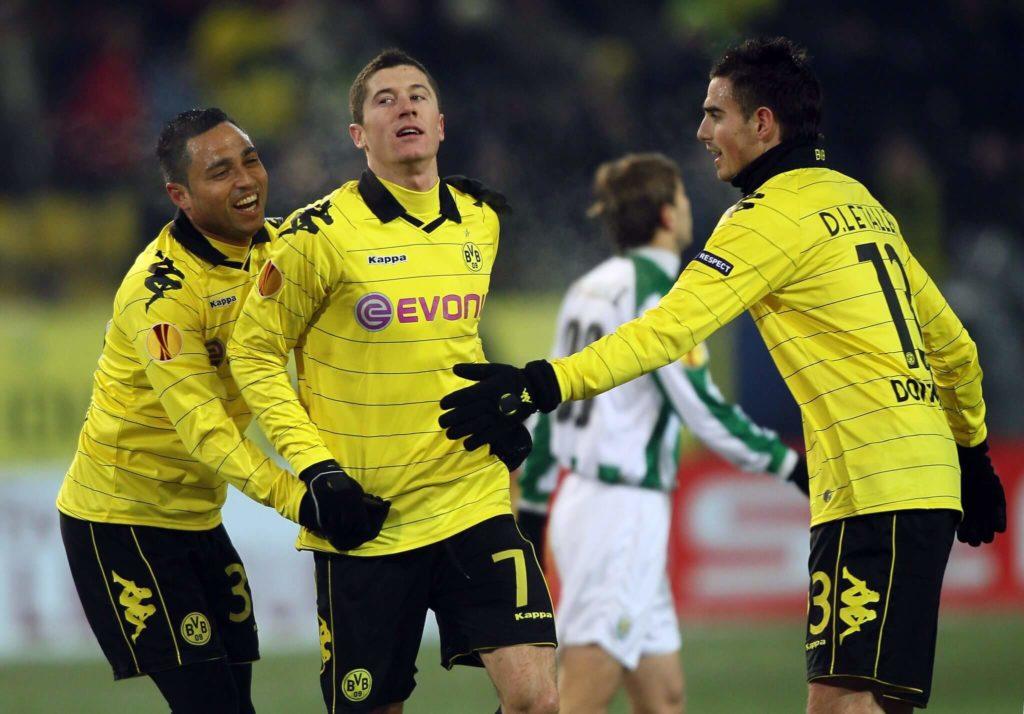 Für die erste Mannschaft blieb der Franzose (rechts) in seinen vier Spielen ohne Treffer. Foto: Getty Images