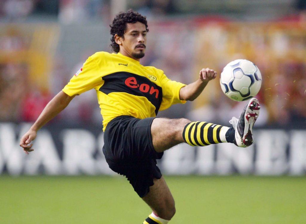 Von 2002 bis 2005 kickte Juan Fernandez beim BVB und kam insgesamt nur 14-mal zum Einsatz. Foto: Getty Images
