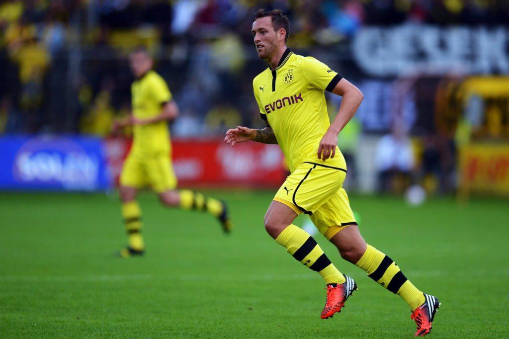 Julian Schieber wechselte 2012 aus Stuttgart nach Dortmund. Foto: Getty Images