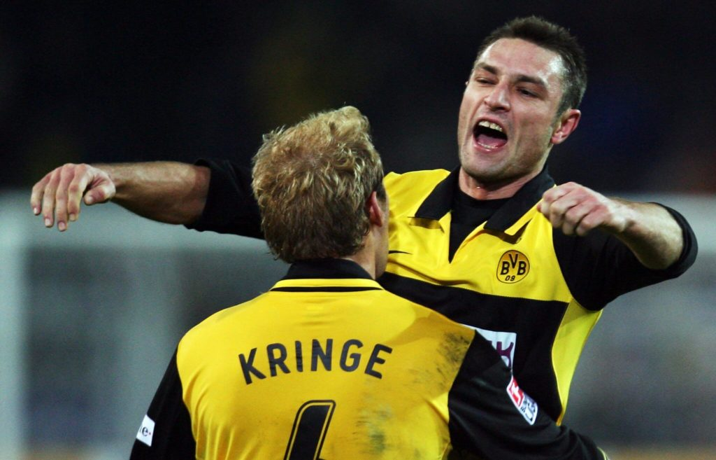 Zusammen mit Christian Wörns sollte Robert Kovac die Abwehr des BVB stabilisieren. Foto: Getty Images