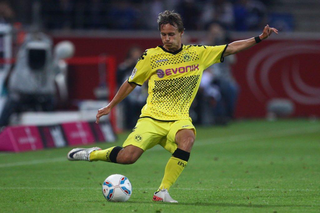 Chris Löwe kam völlig überraschend im Jahre 2011 vom Viertligaverein Chemnitzer FC in die Bundesliga zum BVB. Foto: Getty Images