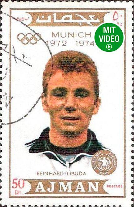 Eine Reinhard-Libuda-Briefmarke.