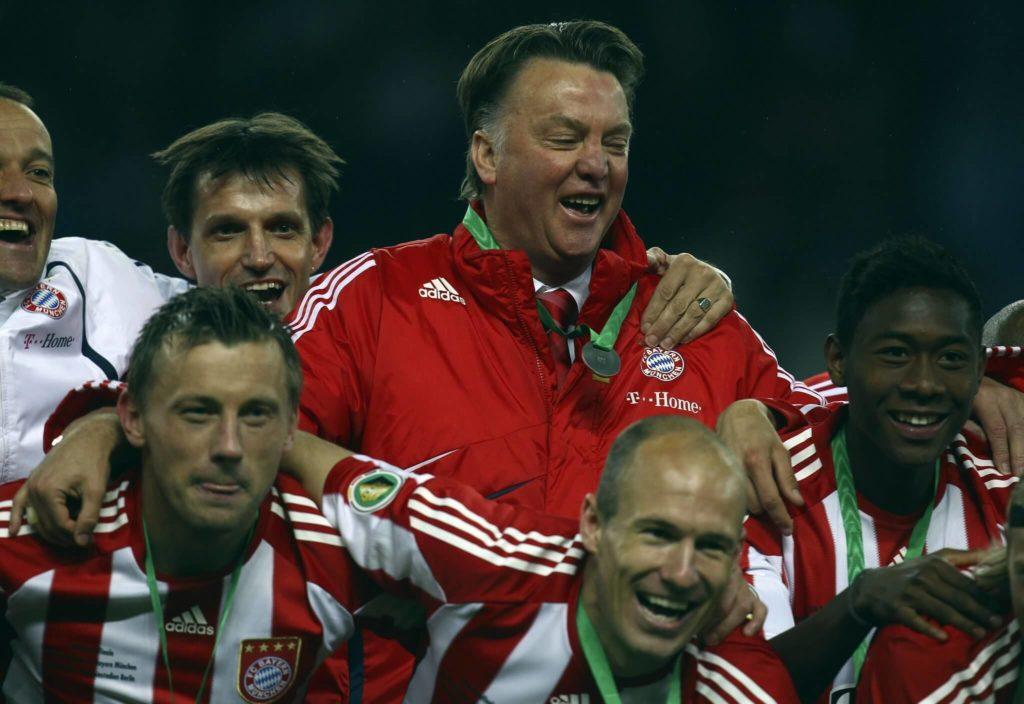 2010 durfte sich Louis van Gaal noch freuen. Foto: Getty Images