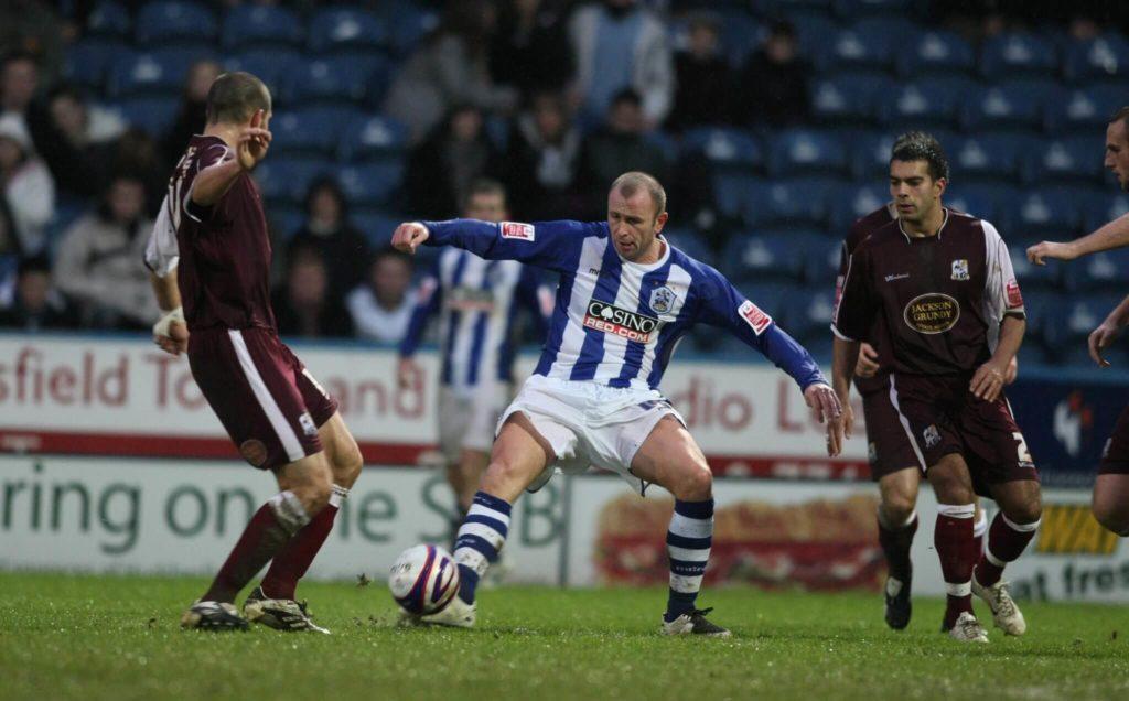 Ronnie Wallwork für Huddersfield. Foto: Getty Images